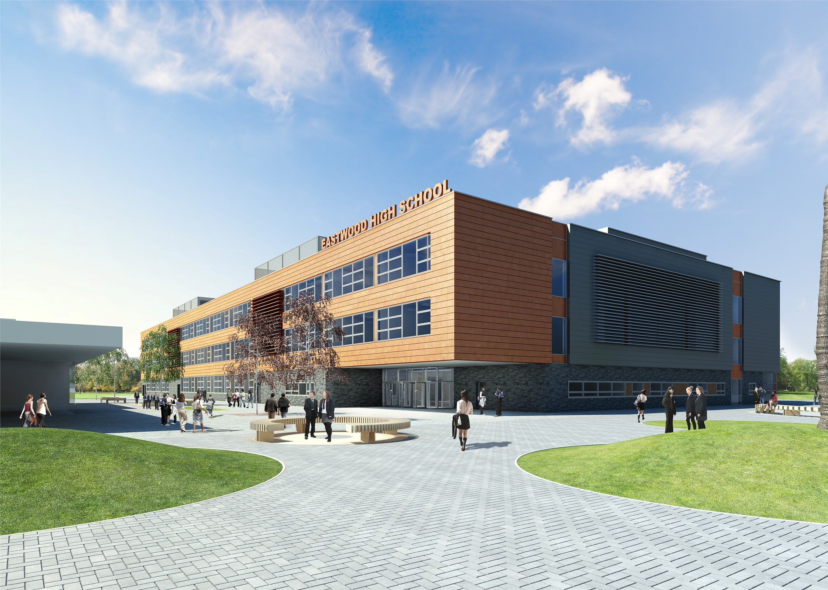 New Eastwood High School - Opening 2013